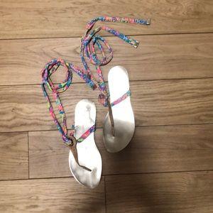 Lilly Pulitzer Harbor Sandals
